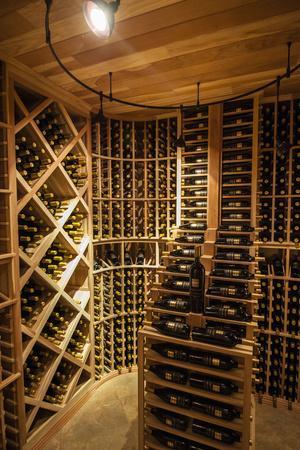 Bottle Cellar at Walla Walla Winery, Walla Walla, Washington, USA