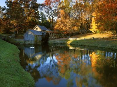 Mabry Mill, Blue Ridge Parkway, Virginia, USA