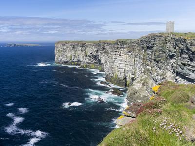 The Cliffs of Marwick Head, Kirkwall, Orkney islands, Scotland.