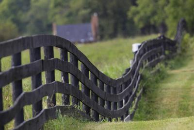 Rural Rappahannock County, Virginia, USA