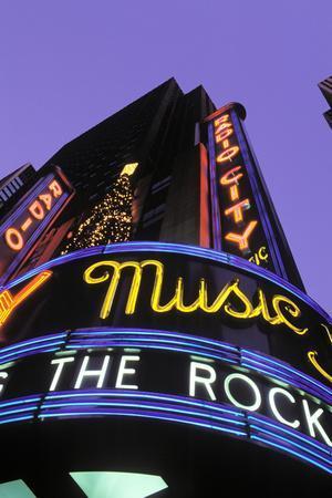 Christmas, Radio City Music Hall, Manhattan, New York, USA