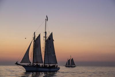 Sunset Cruise on the Western Union Schooner in Key West Florida, USA