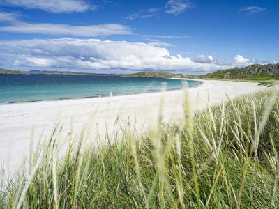 Beach Landscape in the Northern Part of the Isle of Lewis, Scotland