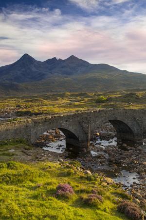 Stone Bridge over River Slichagan, Slichagan, Isle of Skye, Scotland
