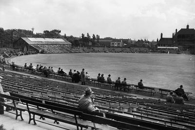Headingley, the Ground of Yorkshire Cricket Club in Leeds.. C.1935