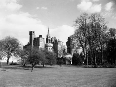 A View of Cardiff Castle, Wales, Circa 1940