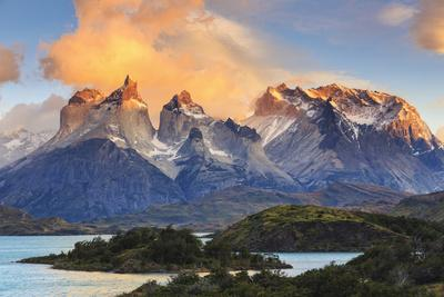 Chile, Patagonia, Torres Del Paine National Park (Unesco Site), Lake Peohe
