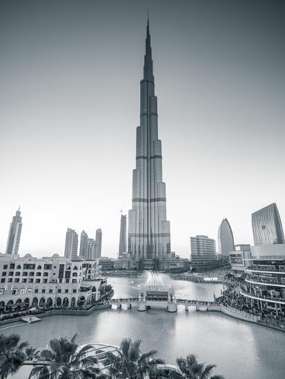 Burj Khalifa (World\'s Tallest Building), Downtown, Dubai, United ...