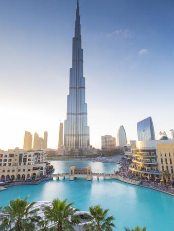 Burj Khalifa (World's Tallest Building), Downtown, Dubai, United Arab Emirates