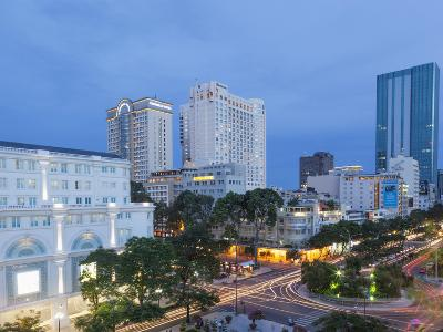 Vietnam, Ho Chi Minh City, City Skyline