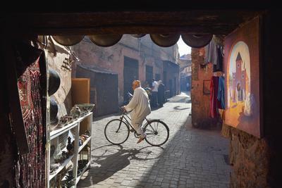 The Old Medina of Marrakech. Morocco