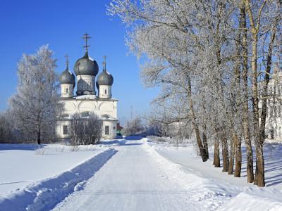 St; Transfiguration Cathedral (1670), Belozersk, Vologda Region, Russia