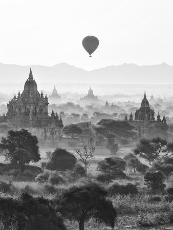 Bagan at Sunrise, Mandalay, Burma (Myanmar)
