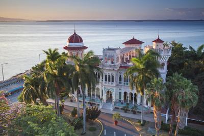 Cuba, Cienfuegos, Punta Gorda, Palacio De Valle- Now a Restaurant , Museum and Bar