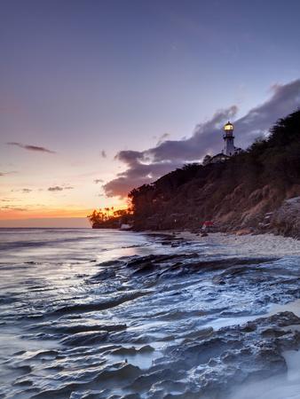 USA, Hawaii, Oahu, Honolulu, Diamond Head Lighthouse