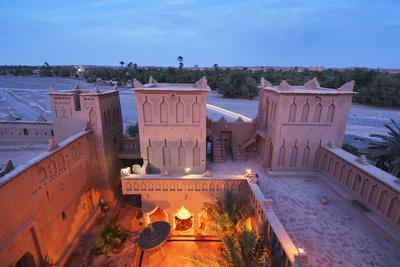The 17th Century Amerhidil Kasbah, Skoura. Morocco (Mr)