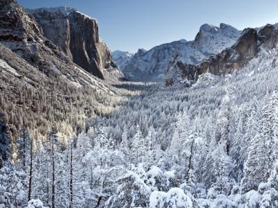 Winter in Yosemite National Park