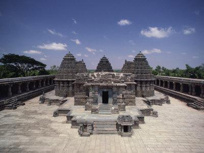Hoysala Period Somnathpur Temple Dating from 1260 AD, Somnathpur, Karnataka State, India