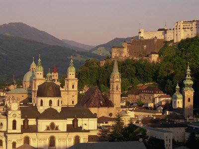 City Skyline, Salzburg, Austria, Europe