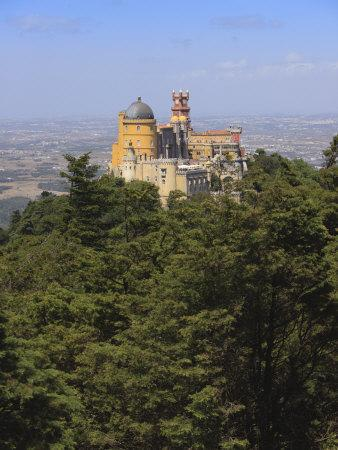 Pena National Palace, UNESCO World Heritage Site, Sintra, Portugal, Europe