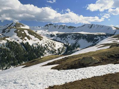 Independence Pass in the Sawatch Mountains, Part of the Rockies, in Aspen, Colorado, USA