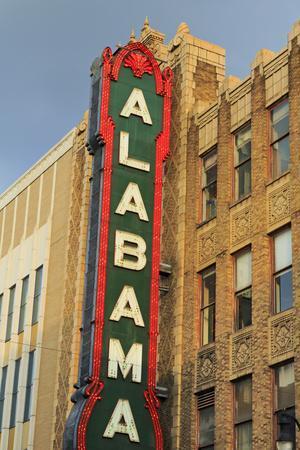 Alabama Theatre on 3rd Street, Birmingham, Alabama, United States of America, North America