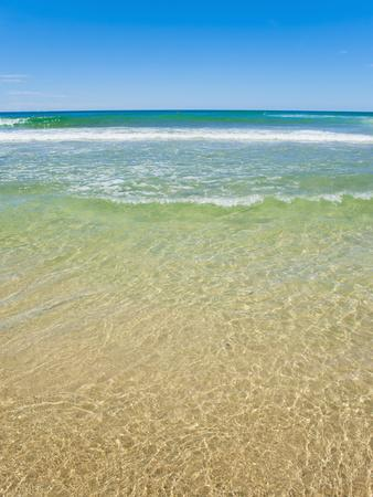 Crystal Clear Blue Sea at Surfers Paradise, Gold Coast, Queensland, Australia, Pacific