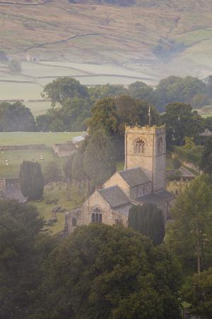 Church, Burnsall, Yorkshire Dales National Park, Yorkshire, England, United Kingdom, Europe