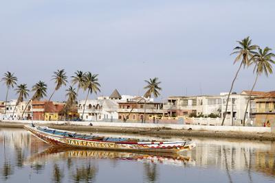 Senegal River and the City of Saint Louis