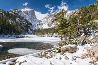 Bear Lake in Winter