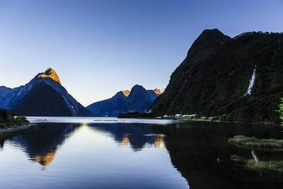Early Morning Light in Milford Sound