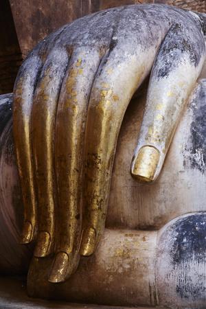 Wat Si Chum, Sukhothai Historical Park, Sukhothai, Thailand, Southeast Asia, Asia