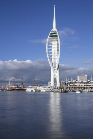 Spinnaker Tower, Gunwharf Quays, Portsmouth Harbour and Dockyard, Portsmouth, Hampshire, England