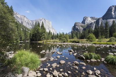 Valley View with El Capitan, Yosemite National Park, California, Usa