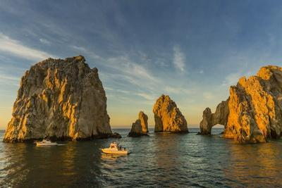 Sunrise with Fishing Boats at Land's End, Cabo San Lucas, Baja California Sur