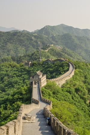The Original Mutianyu Section of the Great Wall, UNESCO World Heritage Site, Beijing, China, Asia