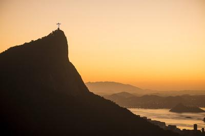 View from Chinese Vista at Dawn, Rio De Janeiro, Brazil, South America