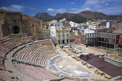 The Roman Theatre, Cartagena, Spain