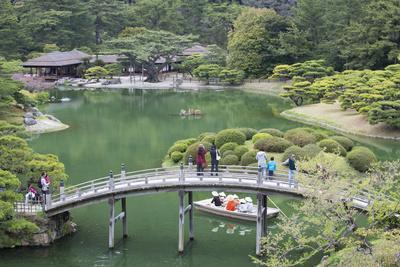 Ritsurin-Koen, Takamatsu, Shikoku, Japan