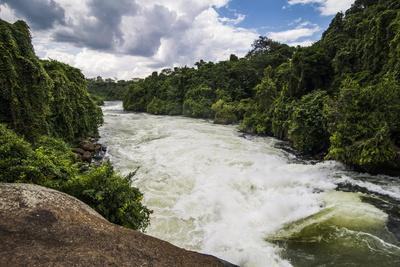 Nile Falls Near Jinja, Uganda, East Africa, Africa