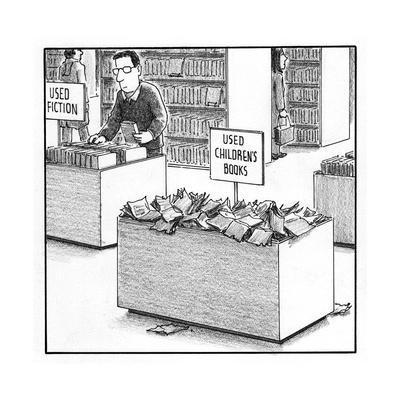 Used Children's Books - Cartoon