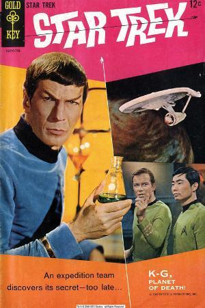 Star Trek: The Original Series Cover, Mr. Spock, Captain Kirk and Sulu
