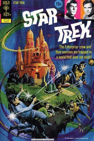 Star Trek: The Original Series Illustrated Cover, Trapped in a World that Does Not Exist