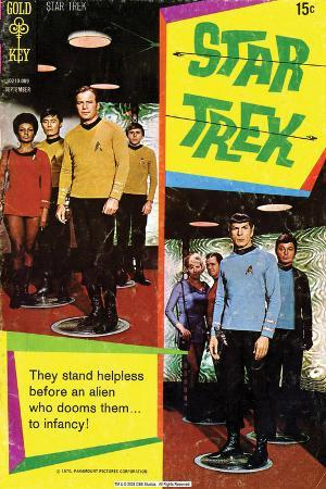 Star Trek: The Original Series Cover, They Stand Helpless