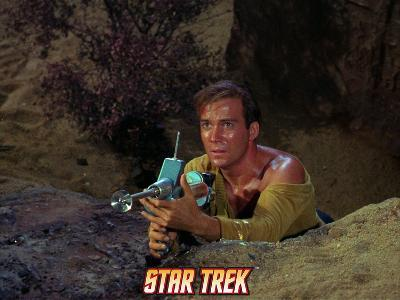 Star Trek: The Original Series, Captain Kirk with Phaser