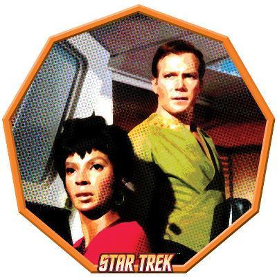 Star Trek: The Original Series, Uhura and Captain James T. Kirk