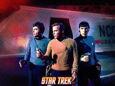 Star Trek: The Original Series, Dr. McCoy, Captain Kirk and Mr. Spock