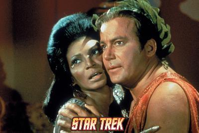 Star Trek: The Original Series, Uhura and Captain Kirk