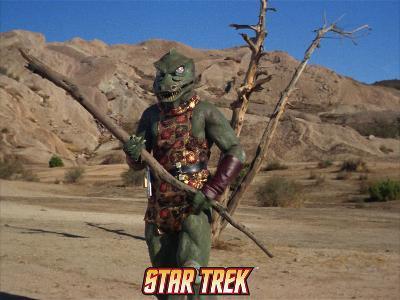 """Star Trek: The Original Series, Gorn in """"Arena"""""""