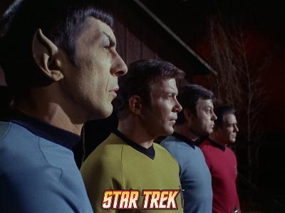 Star Trek: The Original Series, Mr. Spock, Captain Kirk, Dr. McCoy